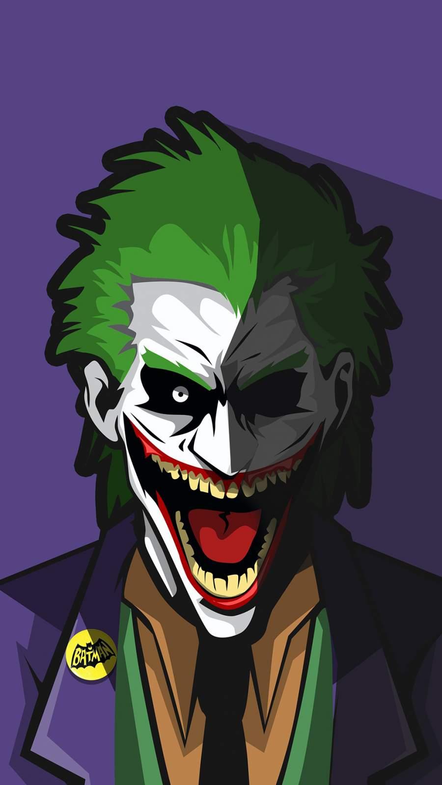 The Joker DC World iPhone Wallpaper