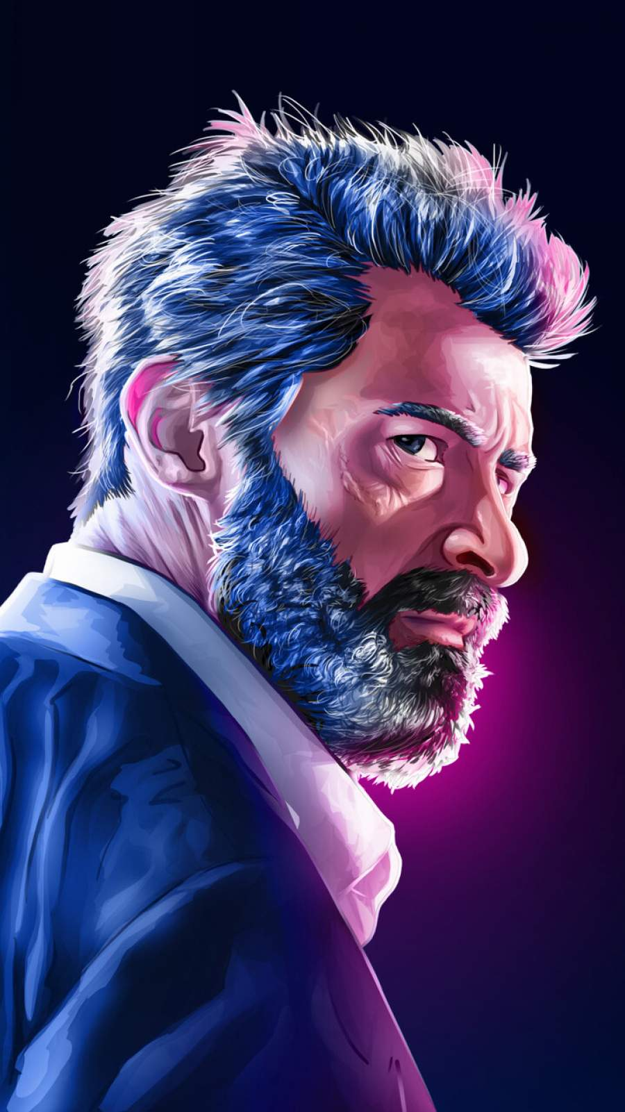 The Logan Art iPhone Wallpaper