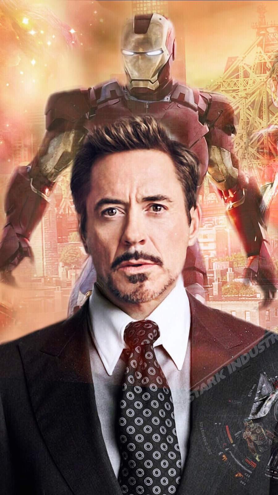 The Tony Stark Iron Man iPhone Wallpaper