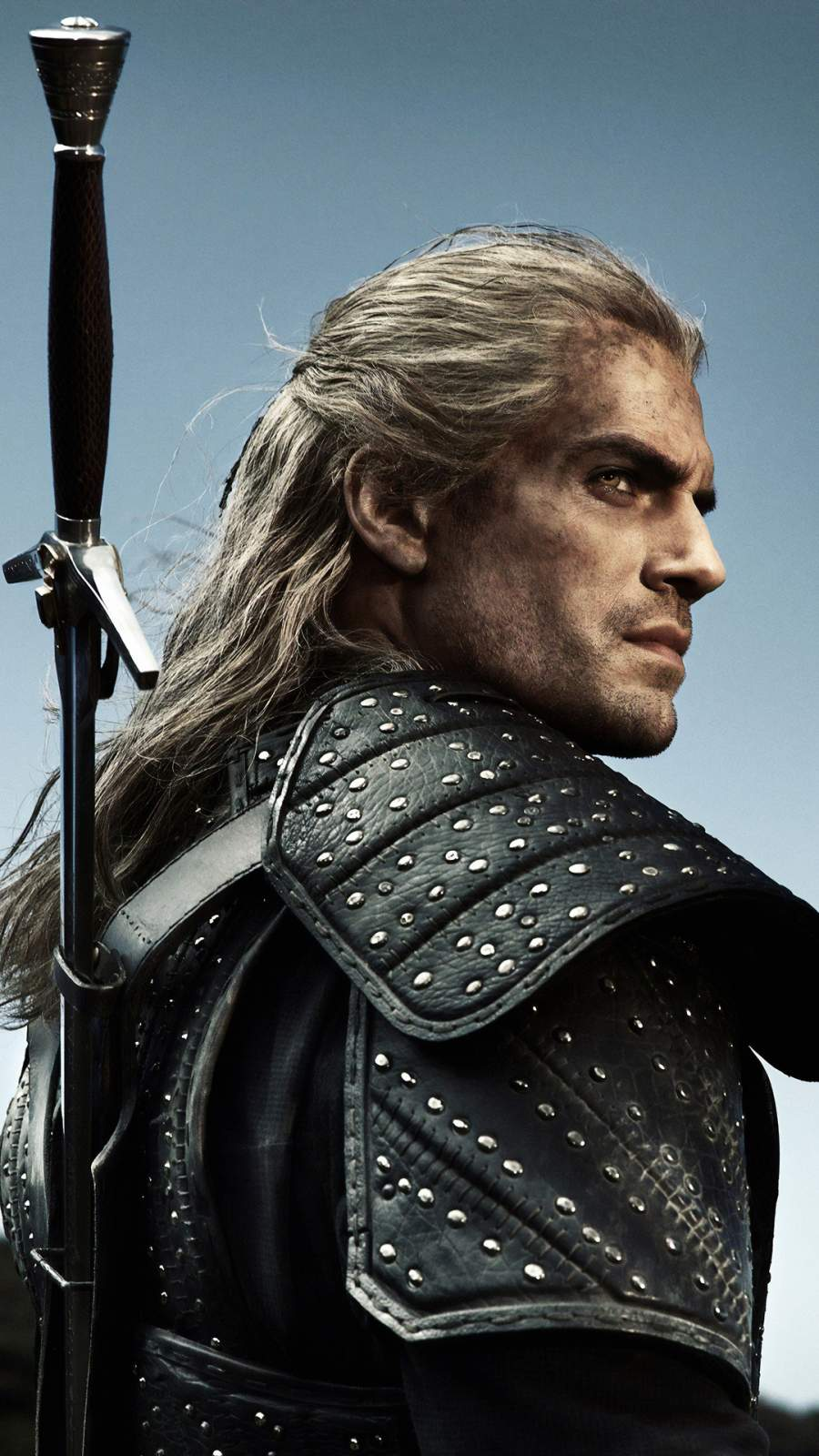 The Witcher Henry Cavill iPhone Wallpaper
