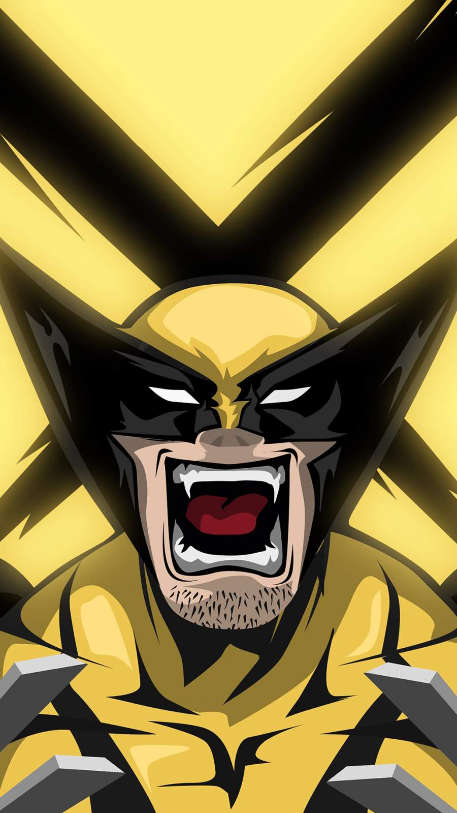 The Wolverine X Men iPhone Wallpaper