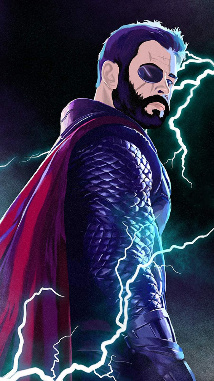 Thor The Thunder iPhone Wallpaper