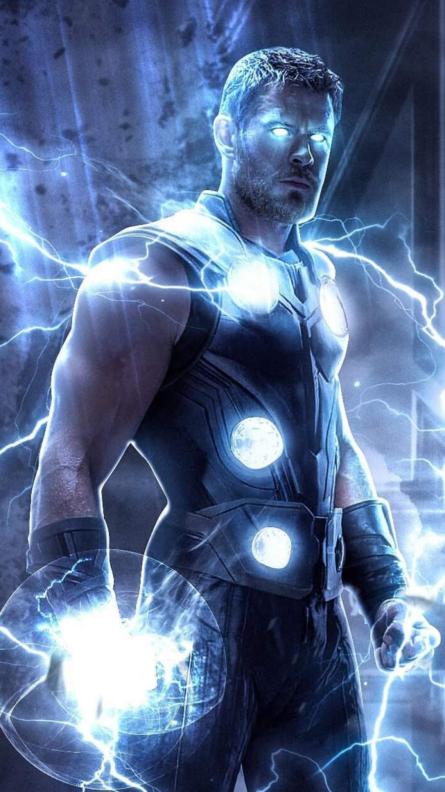 thor thunder iphone wallpaper