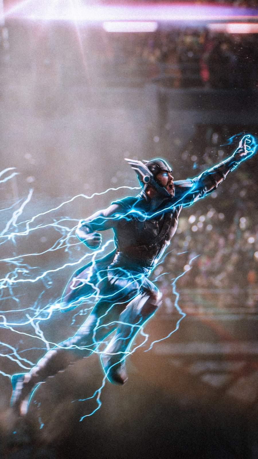 Thor the Lord of Thunder iPhone Wallpaper