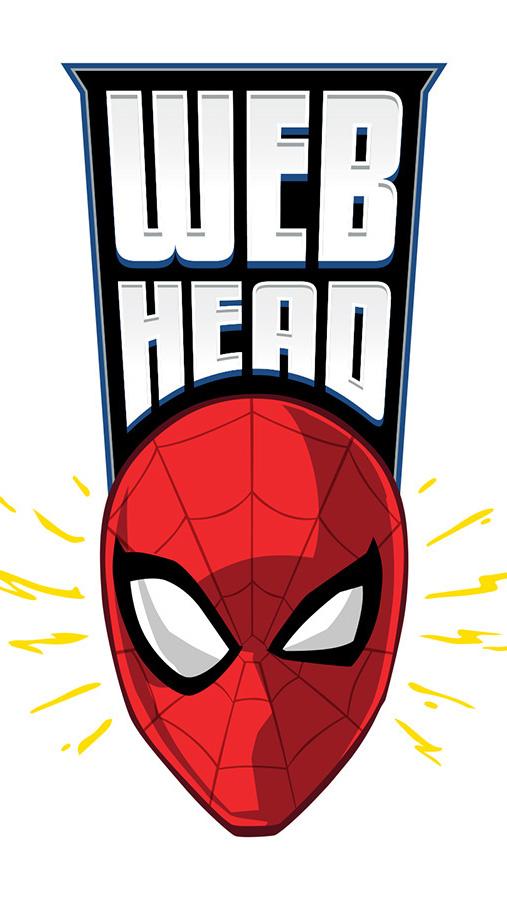 Web Head Spiderman iPhone Wallpaper