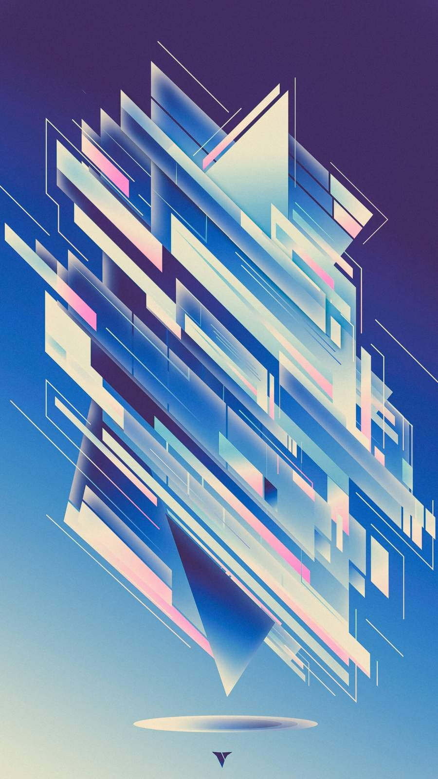 Abstract Design iPhone Wallpaper