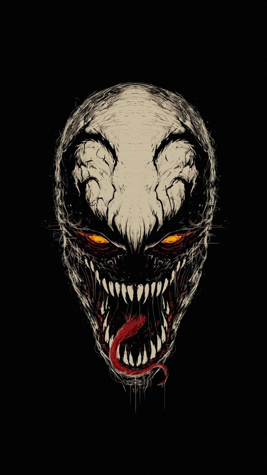 Anti Venom iPhone Wallpaper