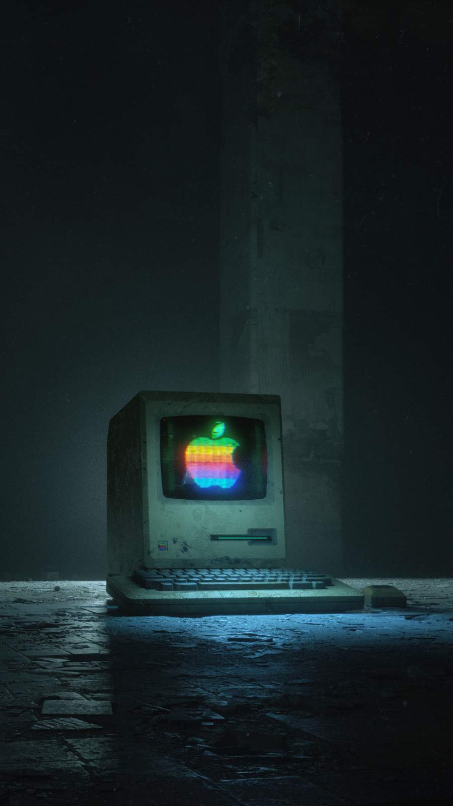 Apple First Generation iMac iPhone Wallpaper