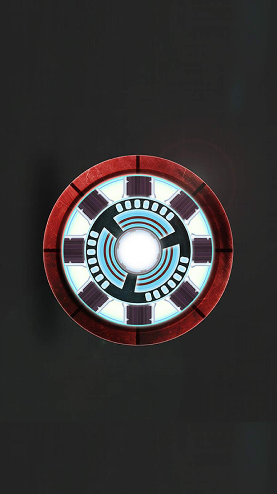 Arc Reactor Iron Man iPhone Wallpaper