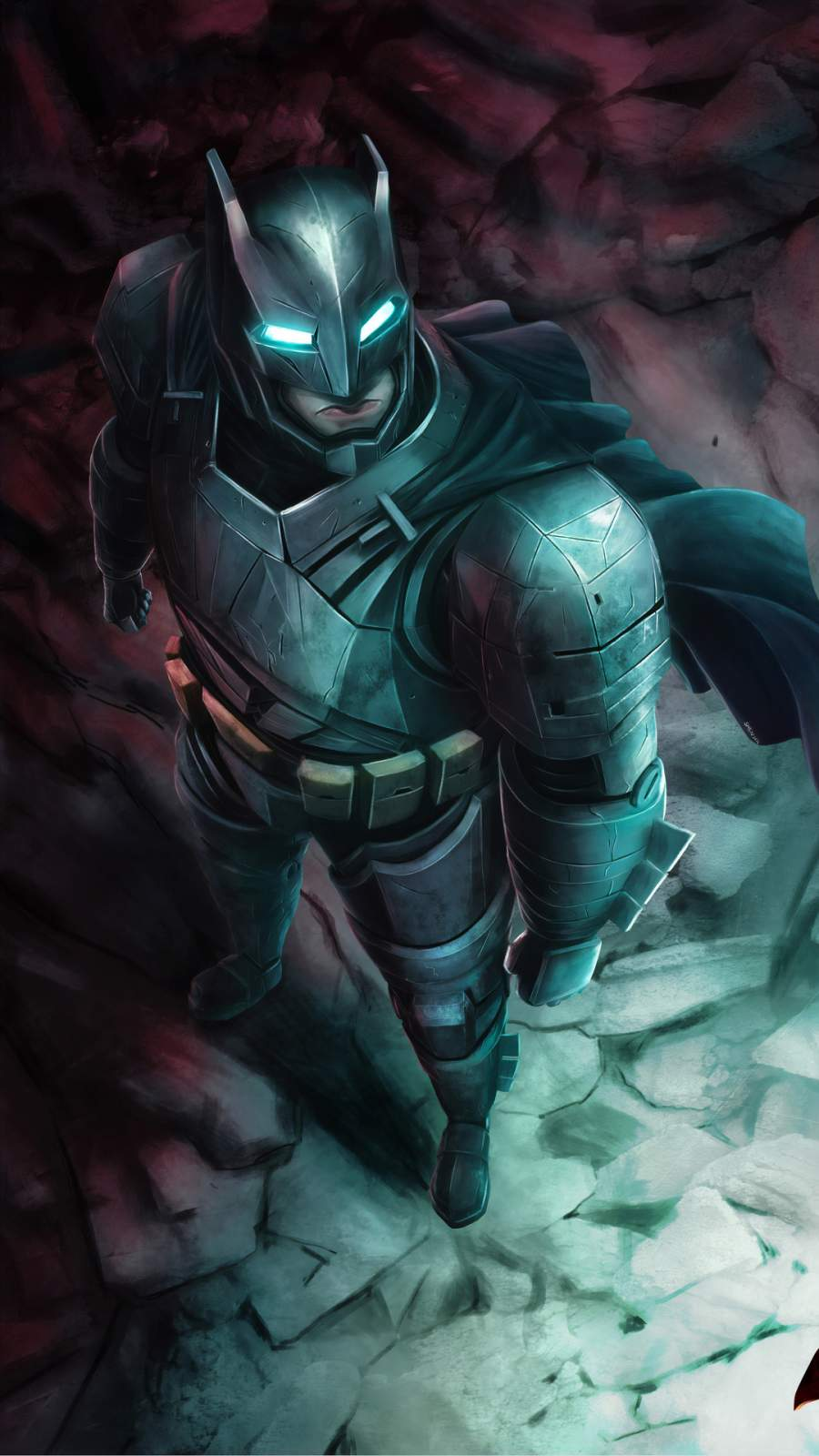 Armored Batman Suit iPhone Wallpaper