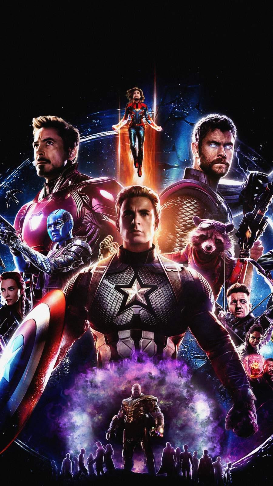 Avengers Endgame New Poster iPhone Wallpaper