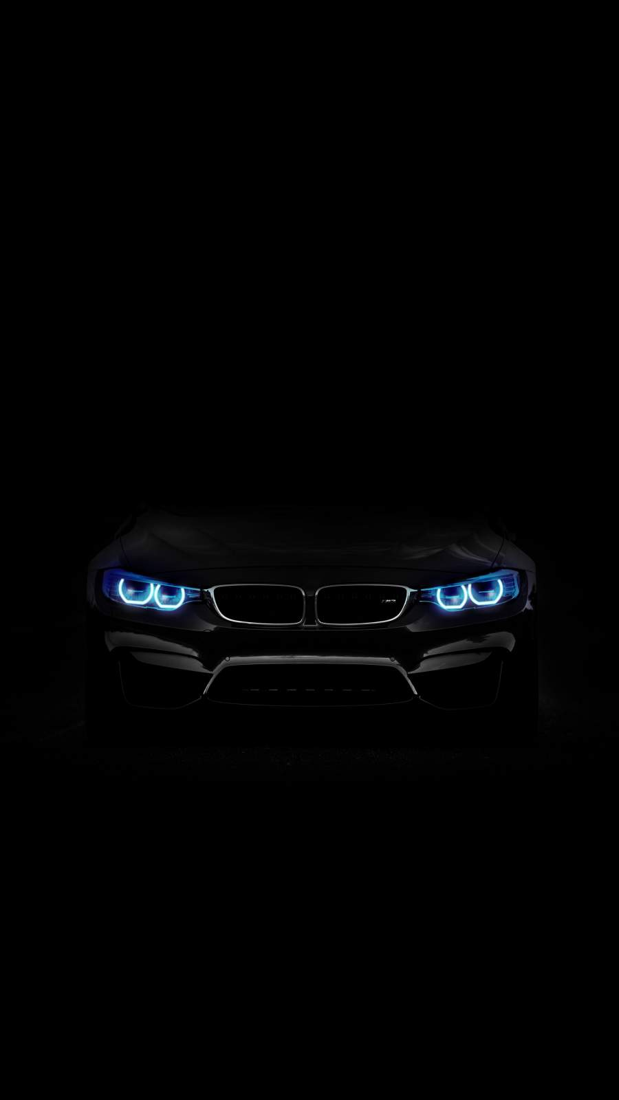 BMW Angel Eyes iPhone Wallpaper