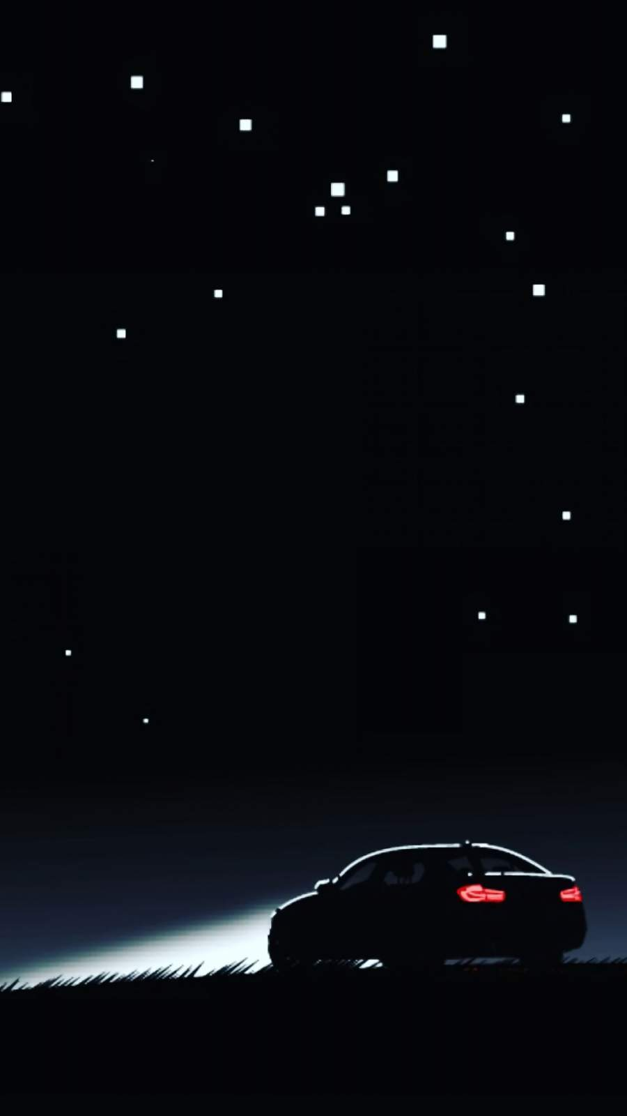 BMW Car Night iPhone Wallpaper