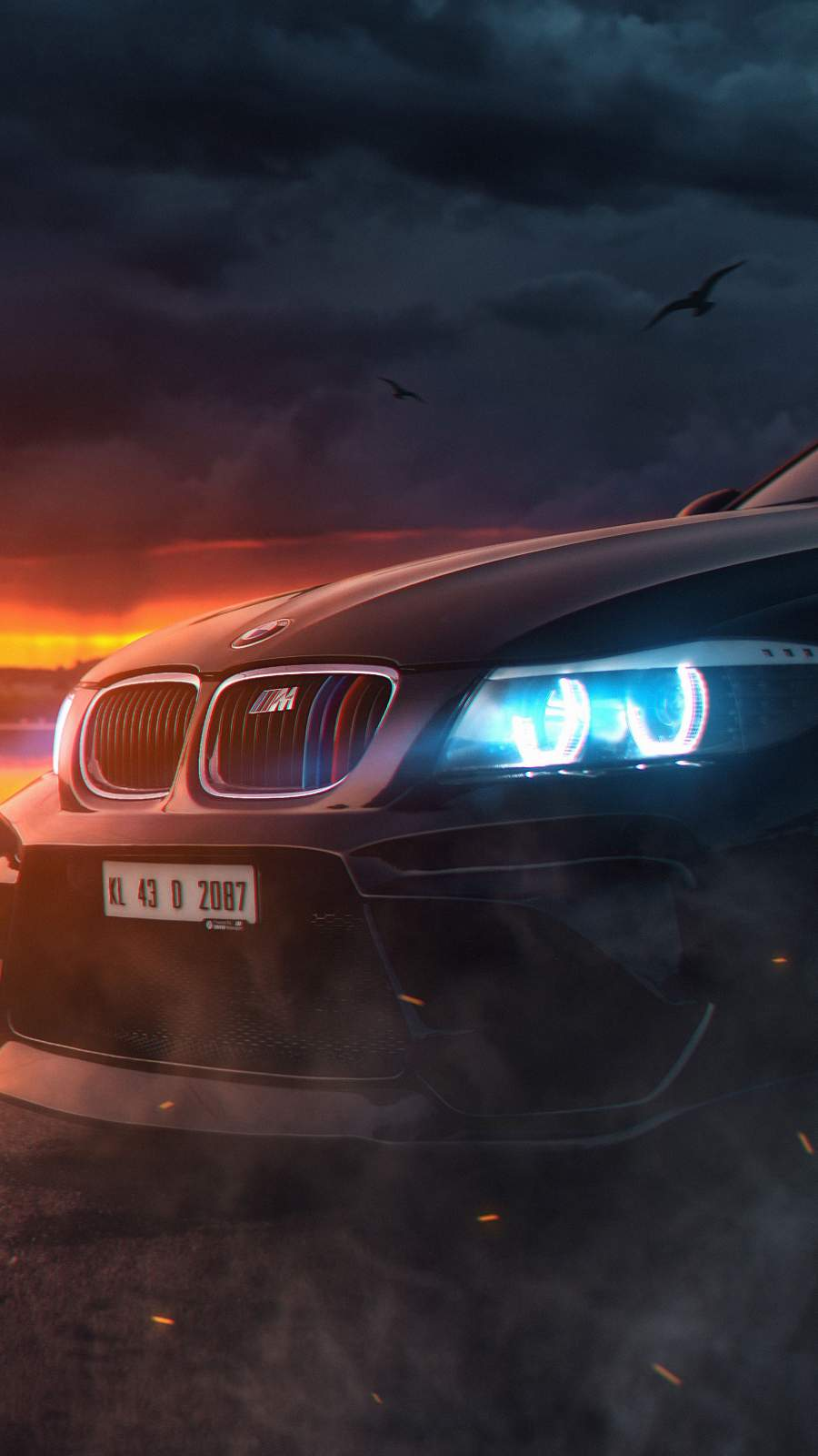 BMW M Series iPhone Wallpaper