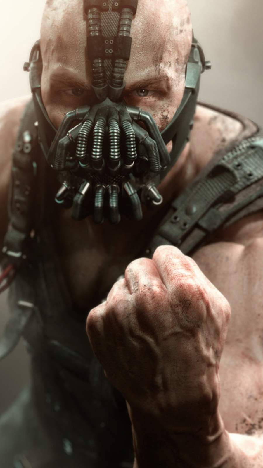 Bane the Dark Knight Rises iPhone Wallpaper