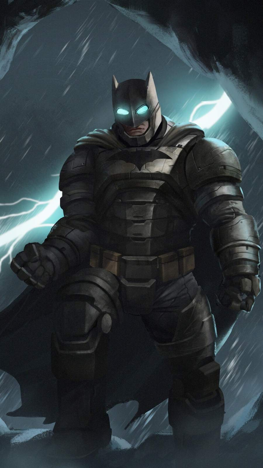 Batman Armour iPhone Wallpaper
