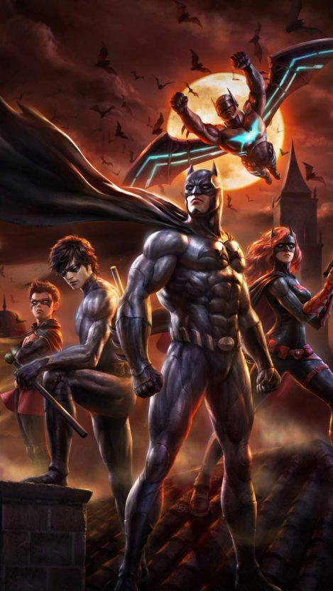 Batman Bad Blood iPhone Wallpaper