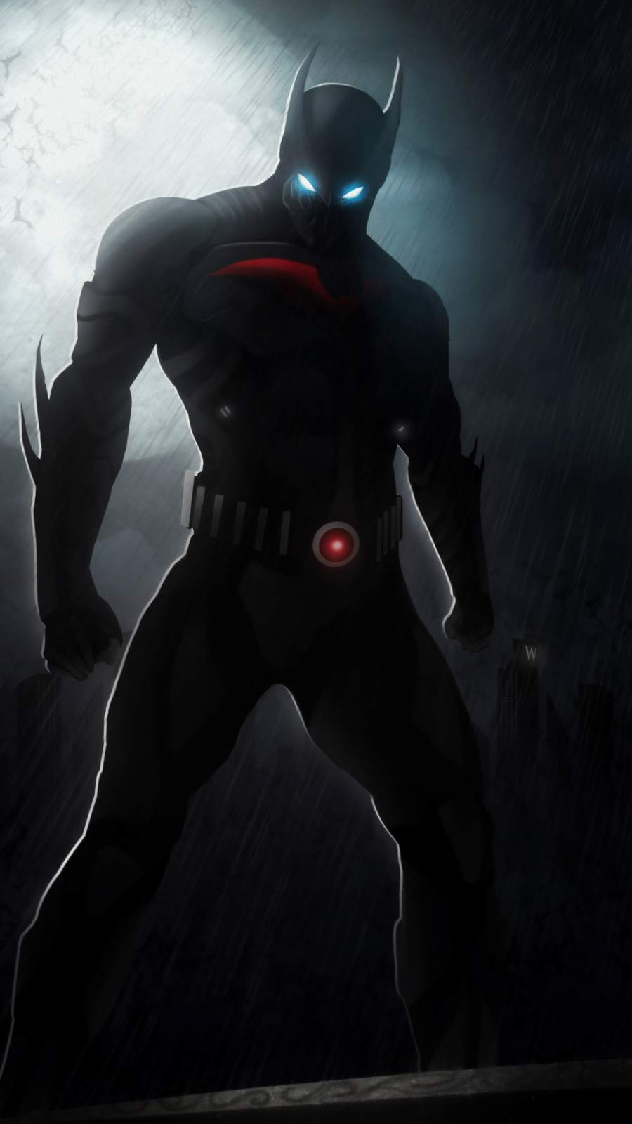 Batman Beyond iPhone Wallpaper