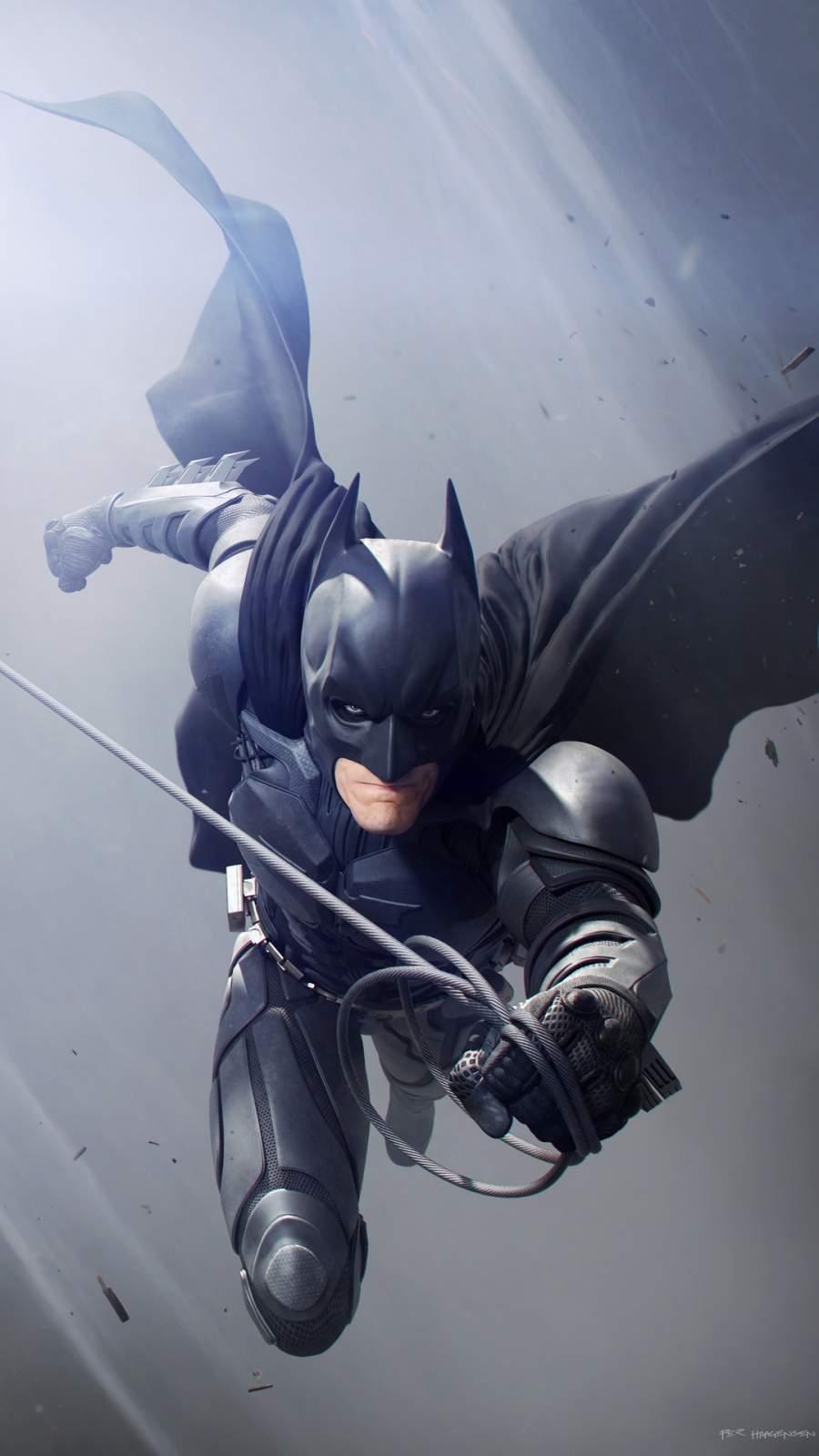 Batman Christian Bale iPhone Wallpaper