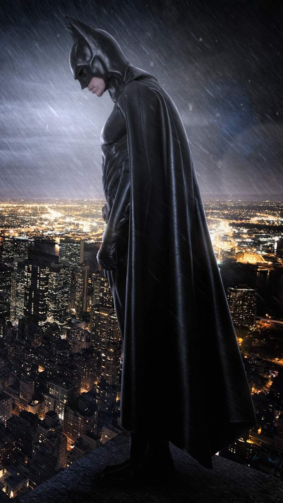 Batman City iPhone Wallpaper
