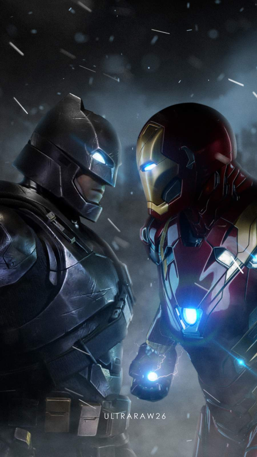 Batman vs Iron Man iPhone Wallpaper - iPhone Wallpapers ...
