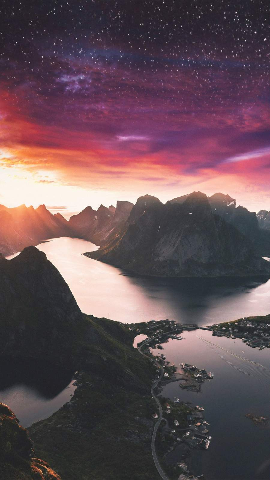 Beautiful Scenery Landscape iPhone Wallpaper