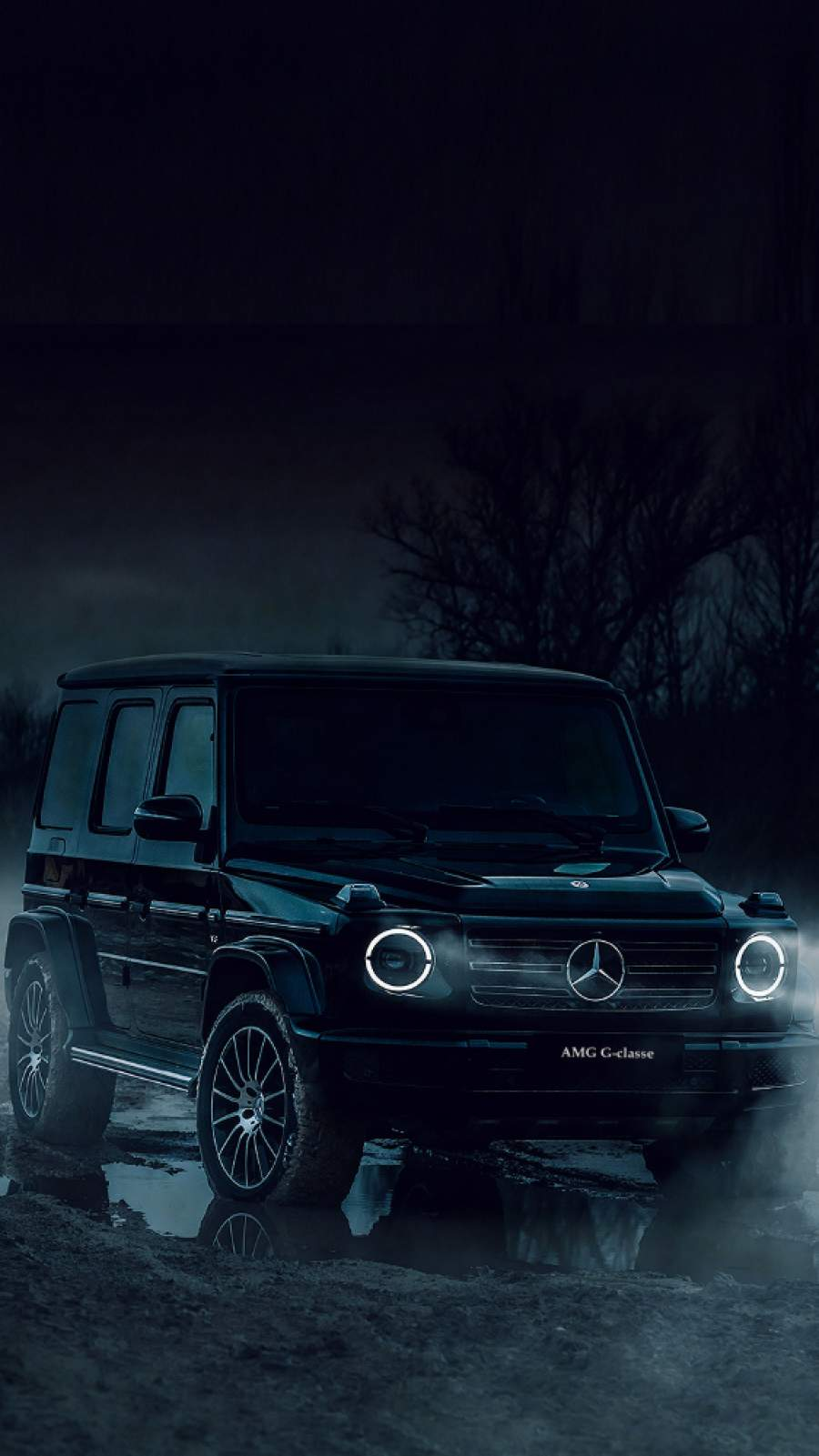 Black G Wagon iPhone Wallpaper