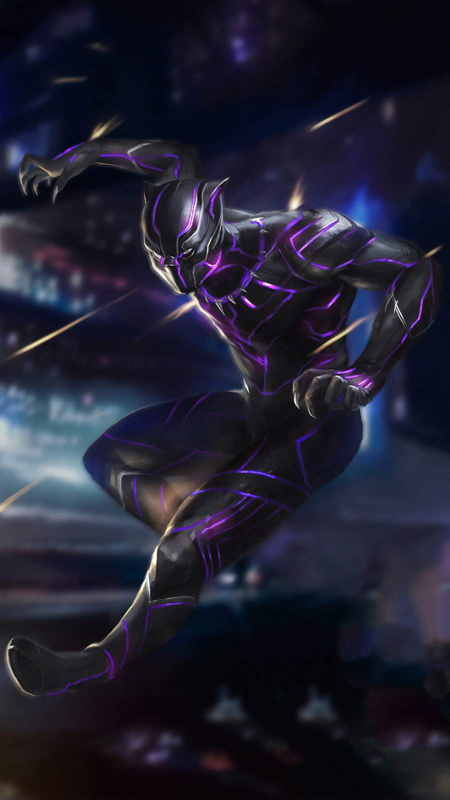 Black Panther 4k New Iphone Wallpaper Iphone Wallpapers