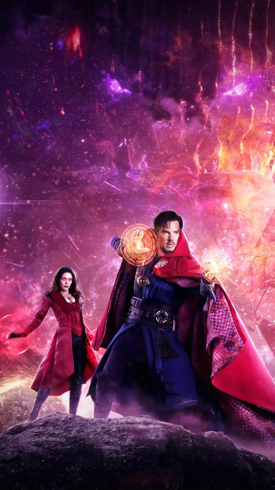 Doctor Strange in the Multiverse of Madness Art iPhone Wallpaper