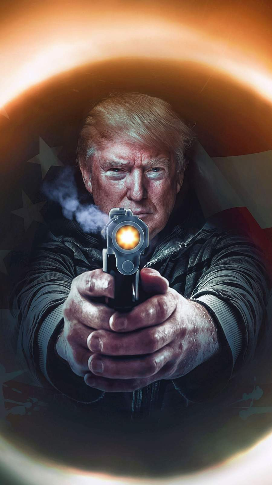 Donald Trump iPhone Wallpaper