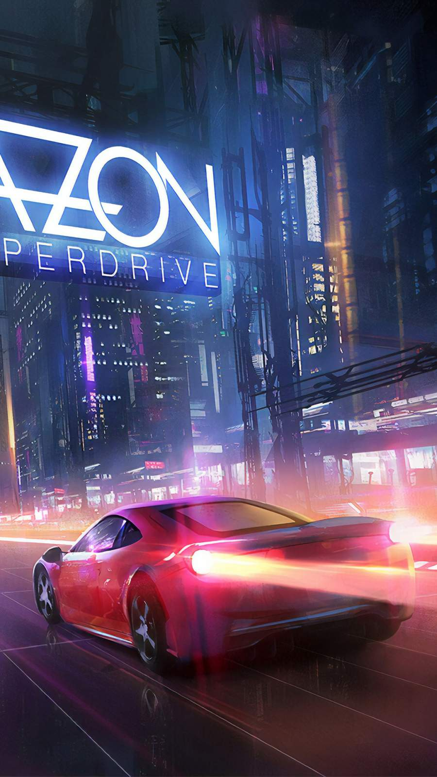 Ferrari Hyperdrive iPhone Wallpaper