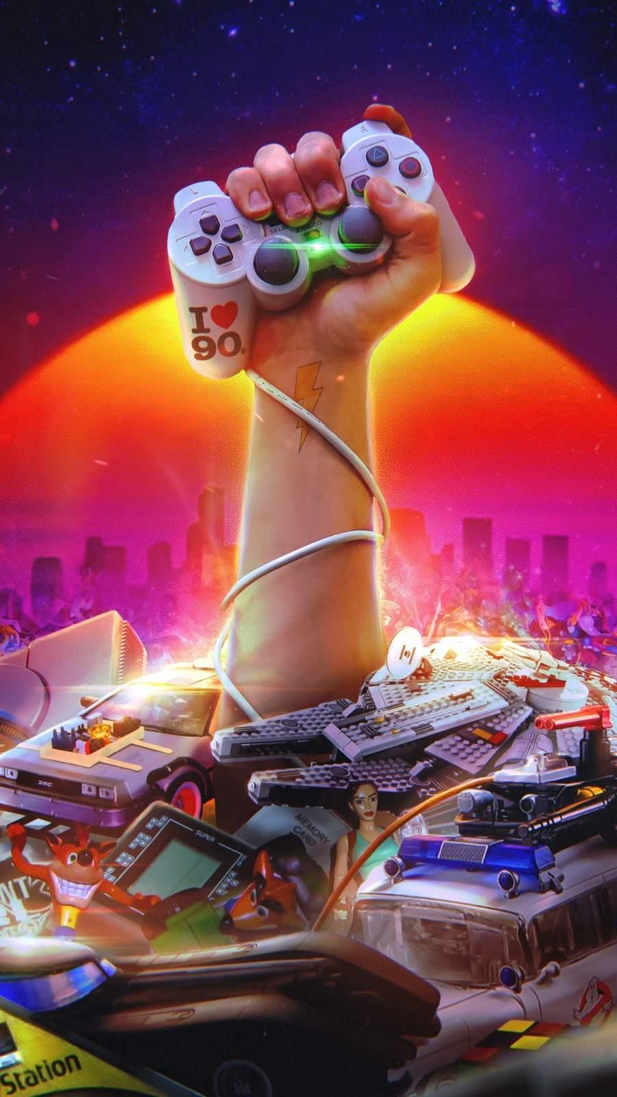 Gamer Life iPhone Wallpaper
