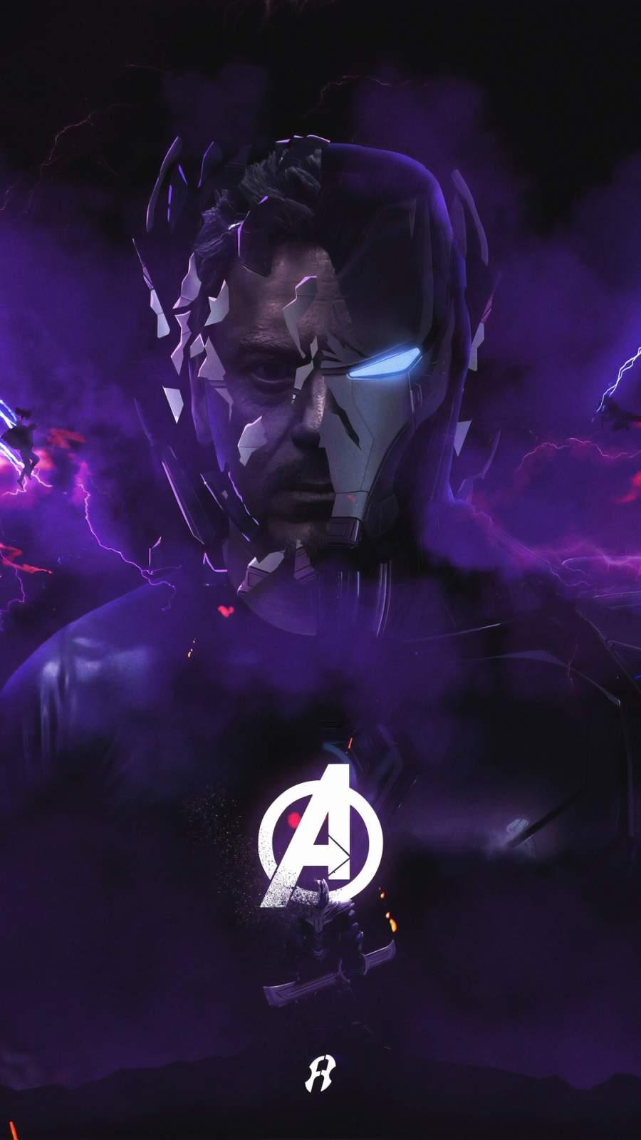 Iron Man Endgame iPhone Wallpaper