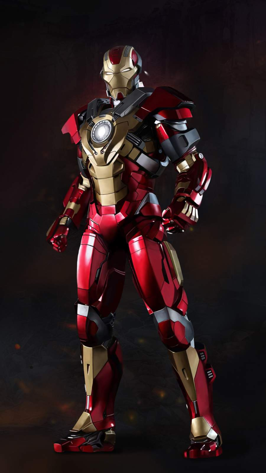 Iron Man Mark 17 Heartbreaker iPhone Wallpaper