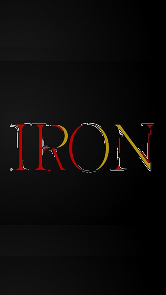 Ironman Minimalism iPhone Wallpaper