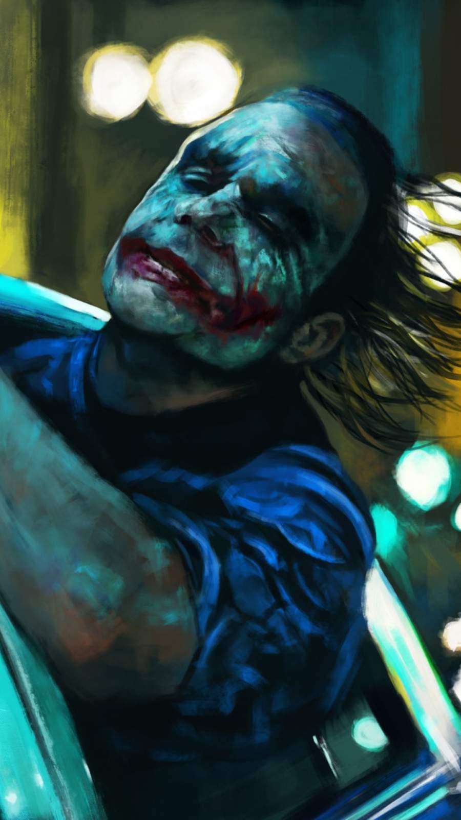 Joker is Free iPhone Wallpaper