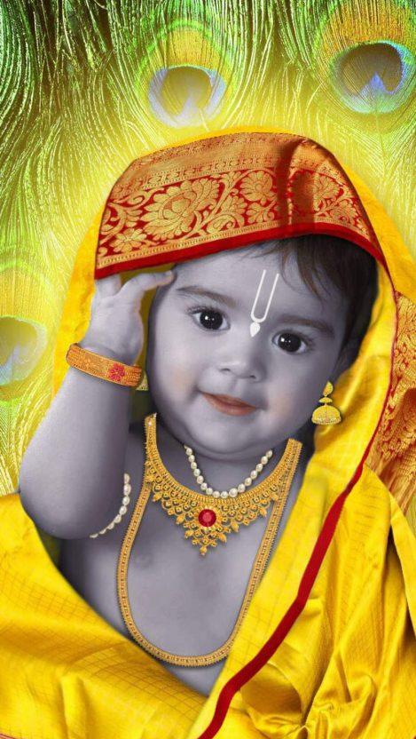 Krishna Janmashtami iPhone Wallpaper