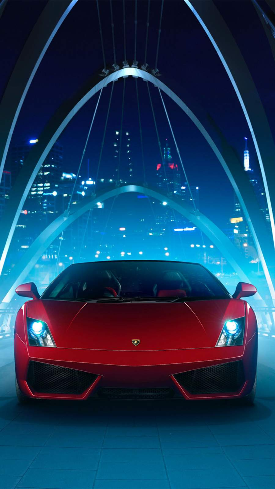 Lamborghini Gallardo iPhone Wallpaper