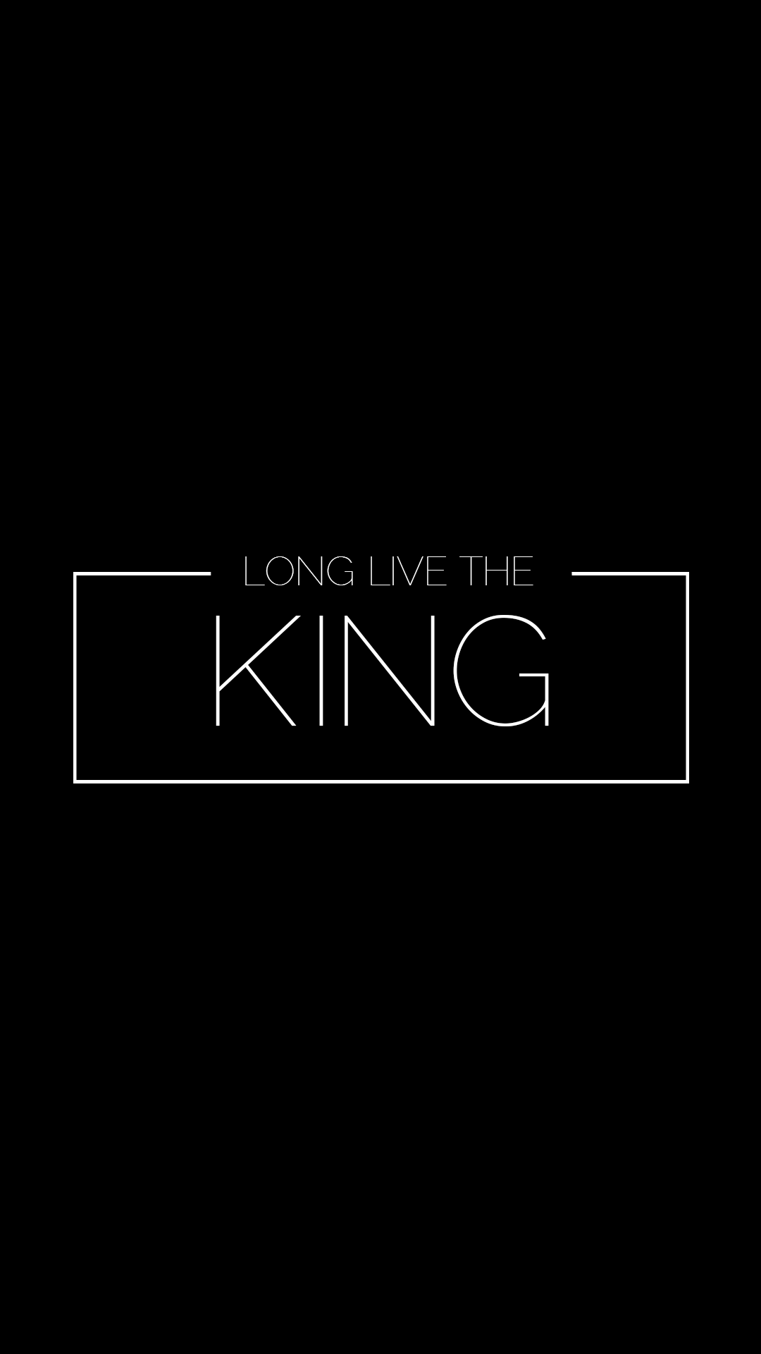 Long Live the King iPhone Wallpaper