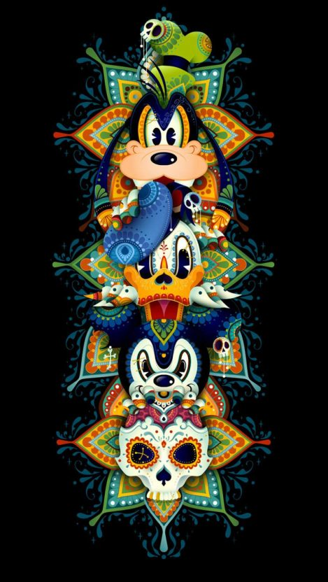 Mickey Mouse and Friends iPhone Wallpaper