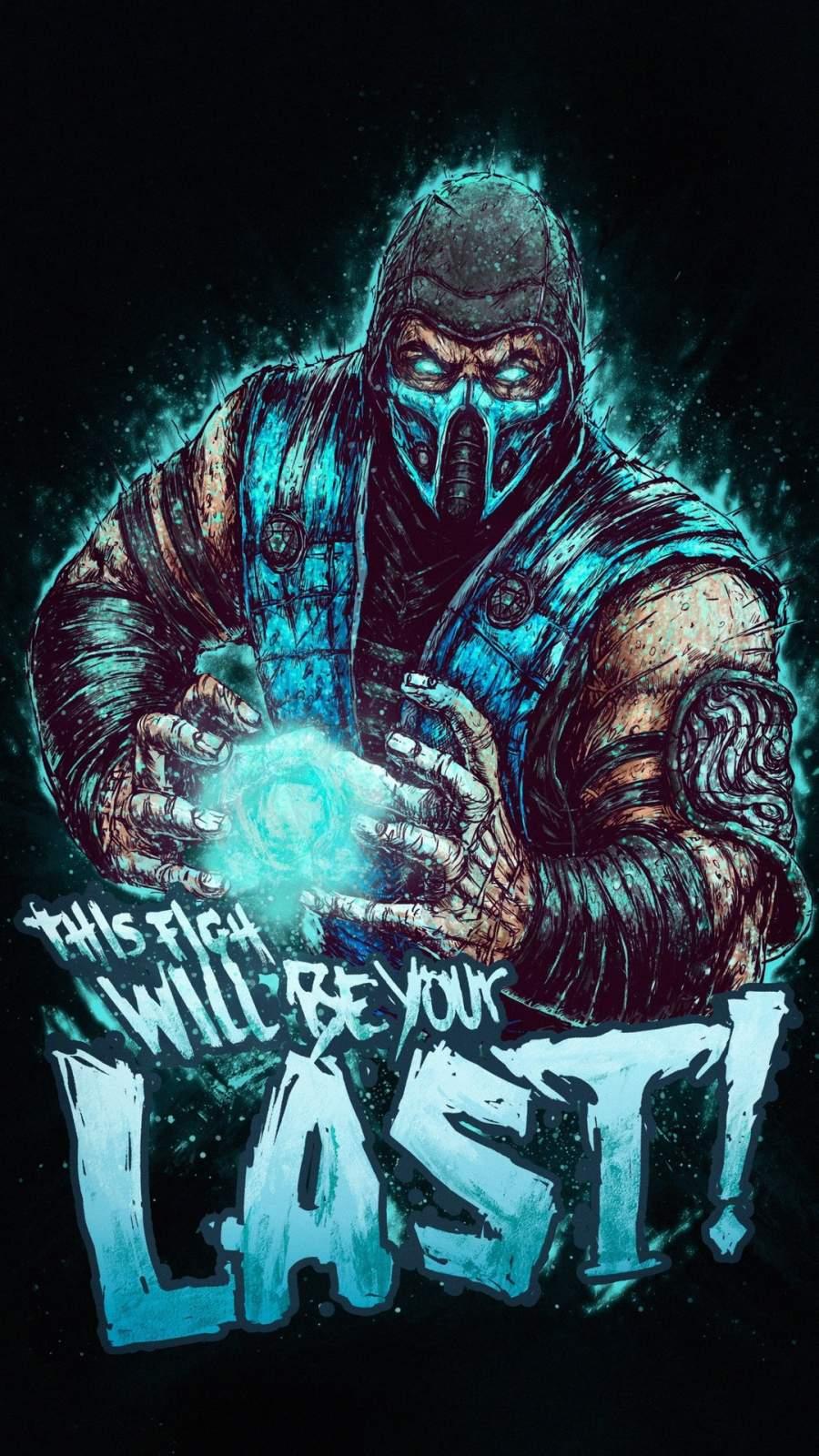 Mortal Kombat Fight iPhone Wallpaper