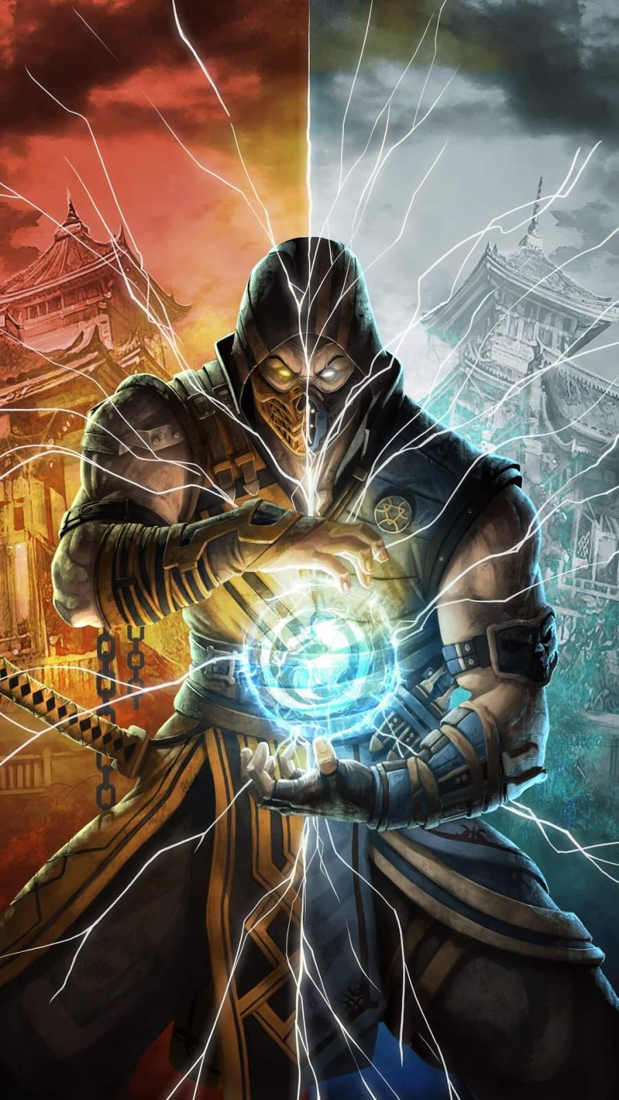 Mortal Kombat Fighter iPhone Wallpaper