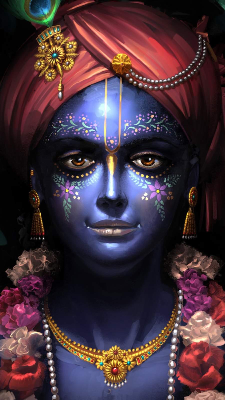 Shree Krishna Janmashtami iPhone Wallpaper