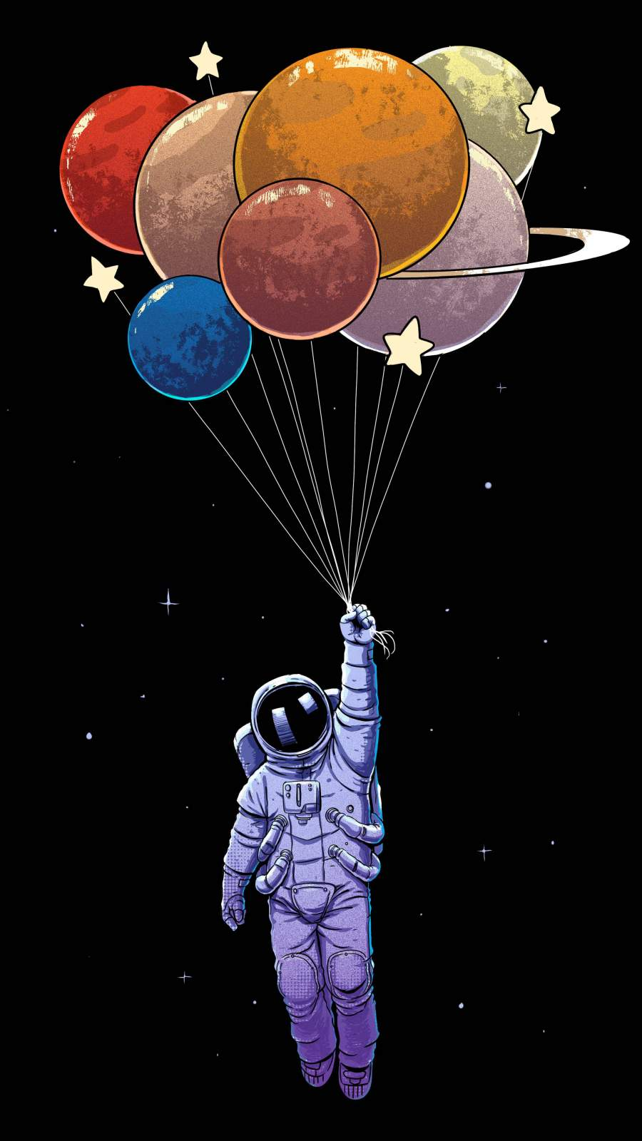 Space Exploration iPhone Wallpaper