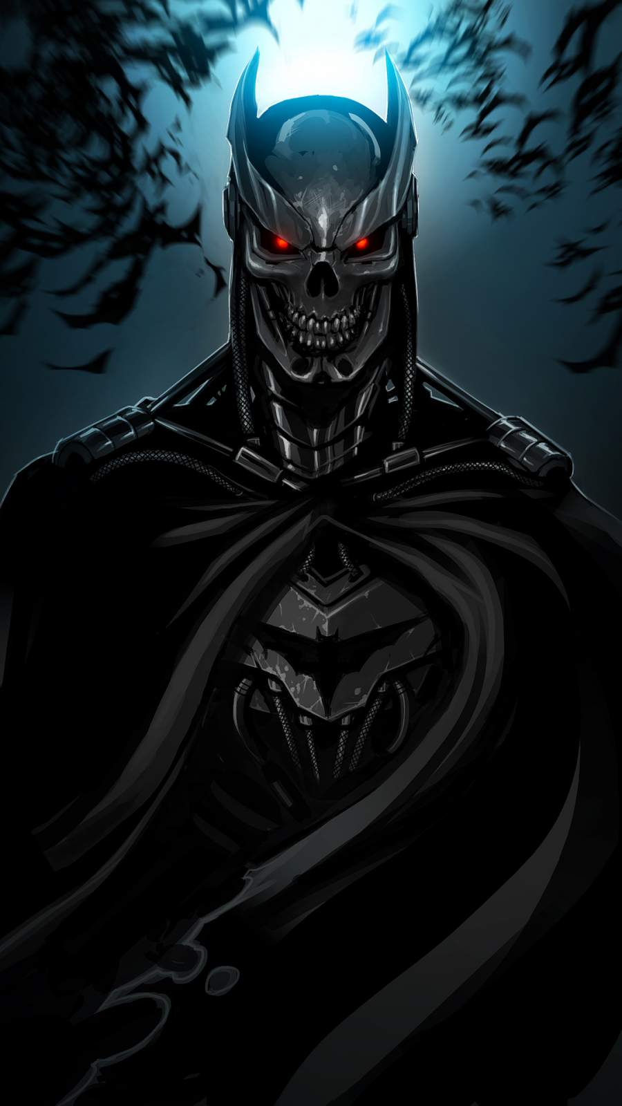 Terminator Batman iPhone Wallpaper