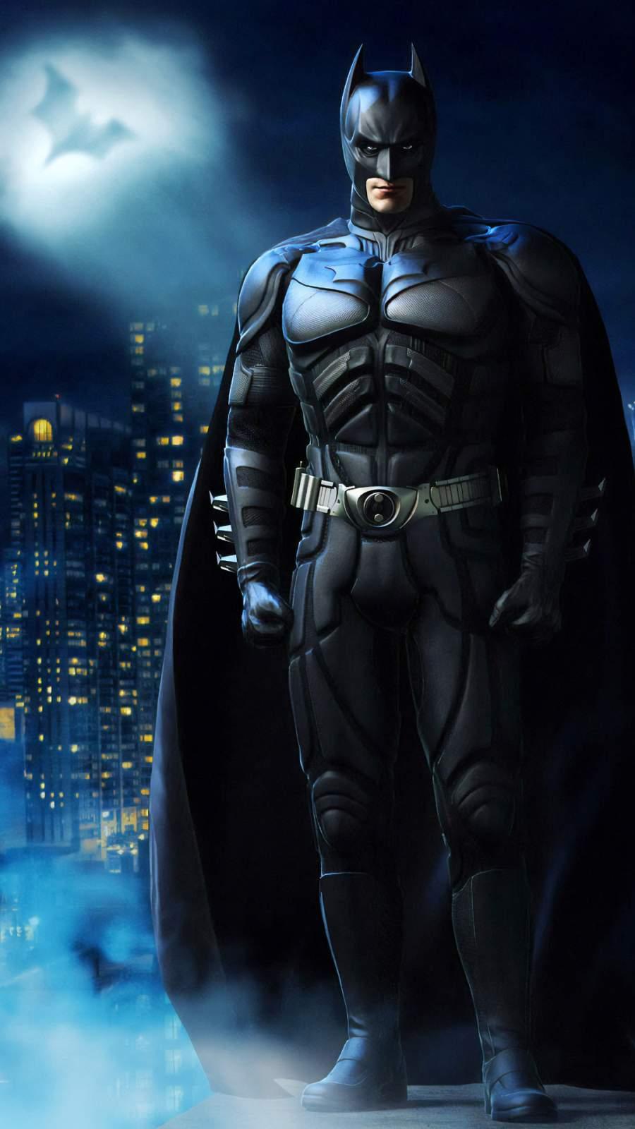 The Batman Art iPhone Wallpaper