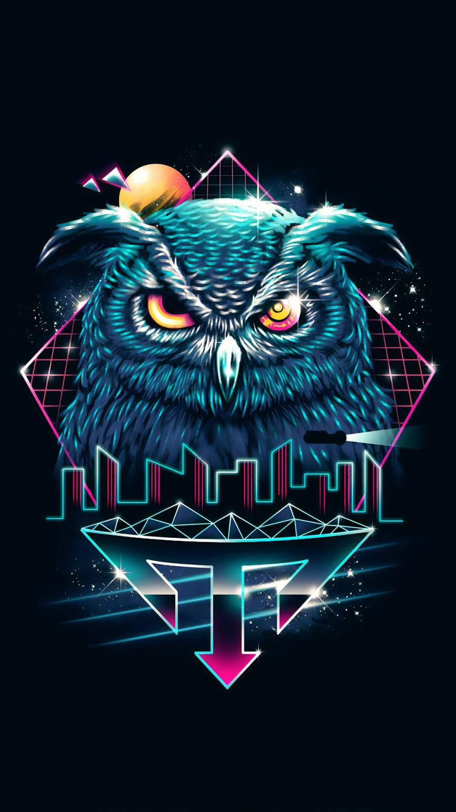 The Owl iPhone Wallpaper