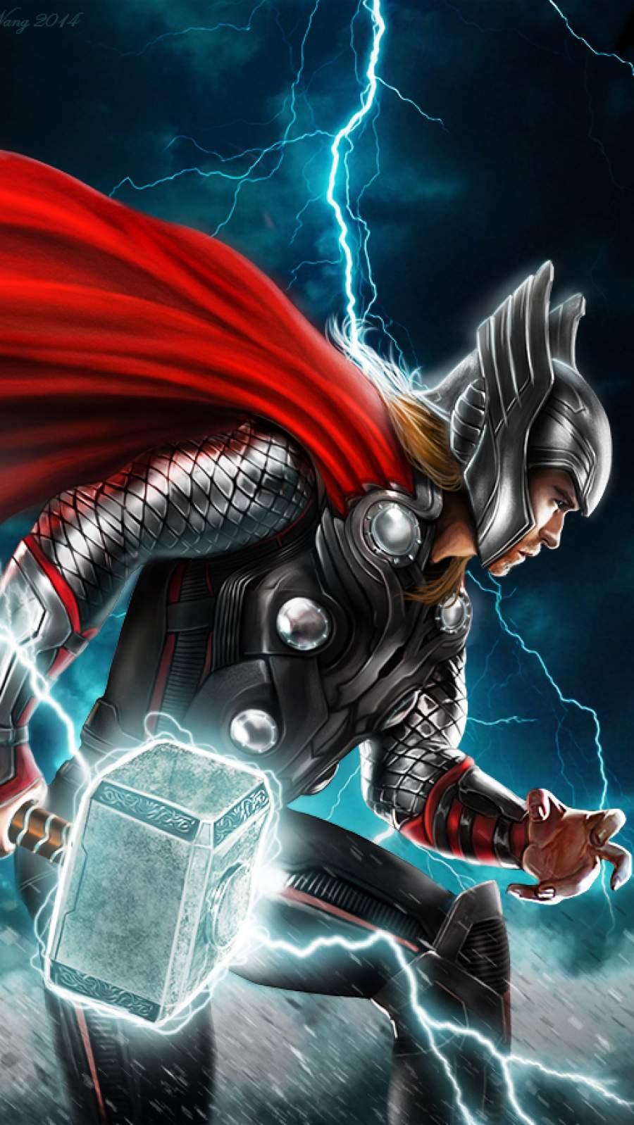 Thor Thunder iPhone Wallpaper