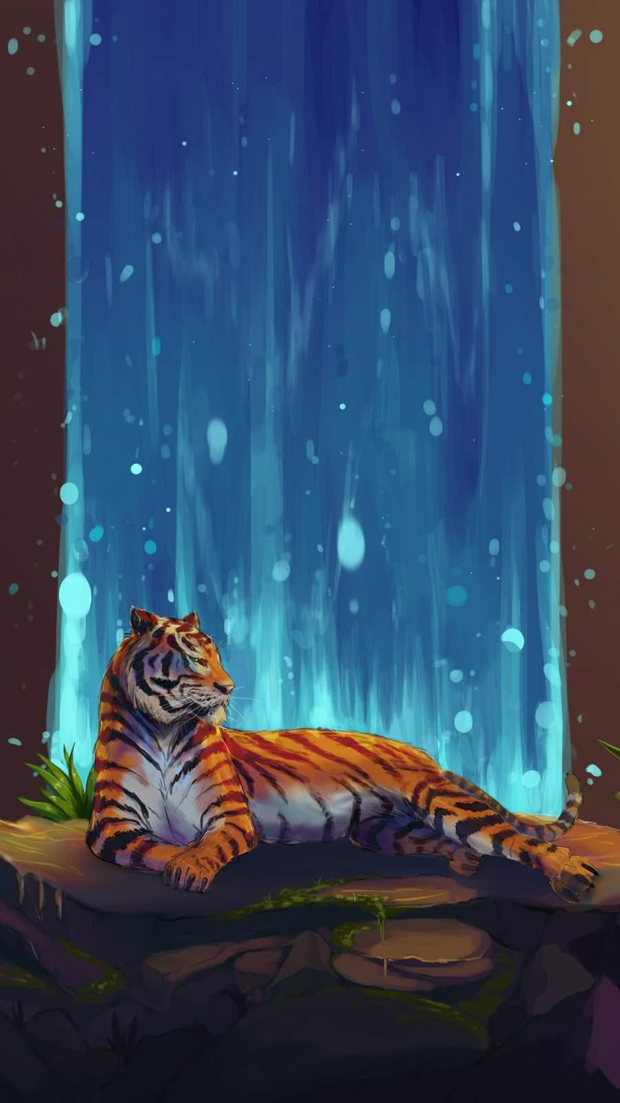 Tigerfall iPhone Wallpaper