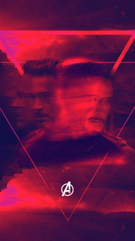 Tony Stark Endgame iPhone Wallpaper
